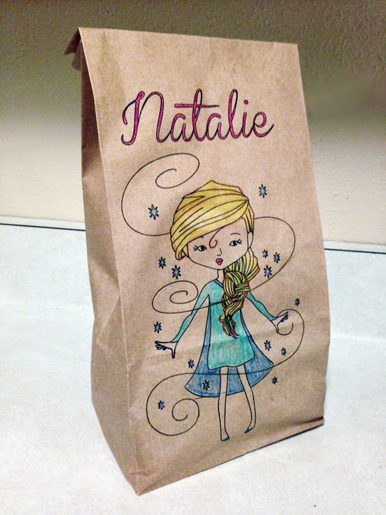 Craft-e-Corner Blog * Celebrate Your Creativity: DIY Personalized Lunch Bags With the Silhouette Cameo & Sketch Pens