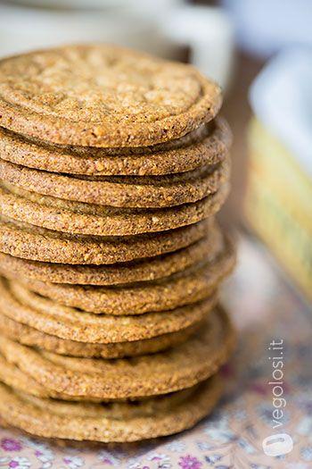 biscotti senza glutine zucchero alle nocciole