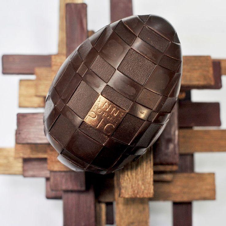 L'oeuf de Pâques d'Anne-Sophie Pic : Chocolats, oeufs et gâteaux de Pâques 2016 - Journal des Femmes