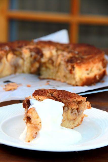 Feijoa Almond Cake