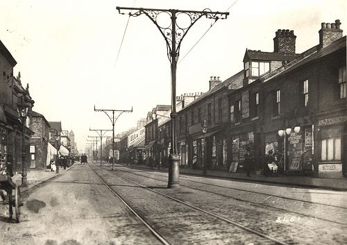 Shield's Road Newcastle upon Tyne C. 1900 by Newcastle Libraries