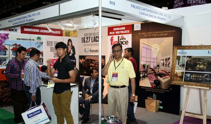 Finlace Consulting - Showcasing various projects of NCR & Lucknow at Dubai