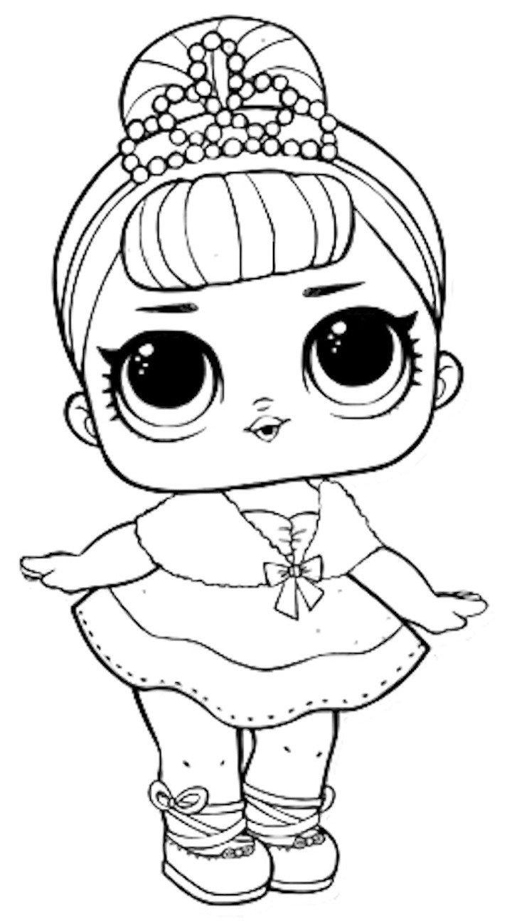 Dibujos Para Colorear Muñecas Lol Dibujos Dibujos Para