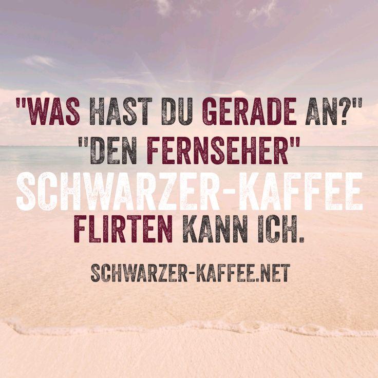 Schwarzer Kaffee - lustige Sprüche!