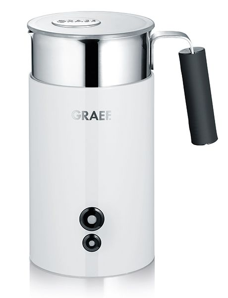 Graef Milchaufsch... The Graef milk frother, the MS 701 and the MS 702 models nearly double the volume of milk, allowing you to make delicious milk froth for classic cappuccino, latte or café au lait.