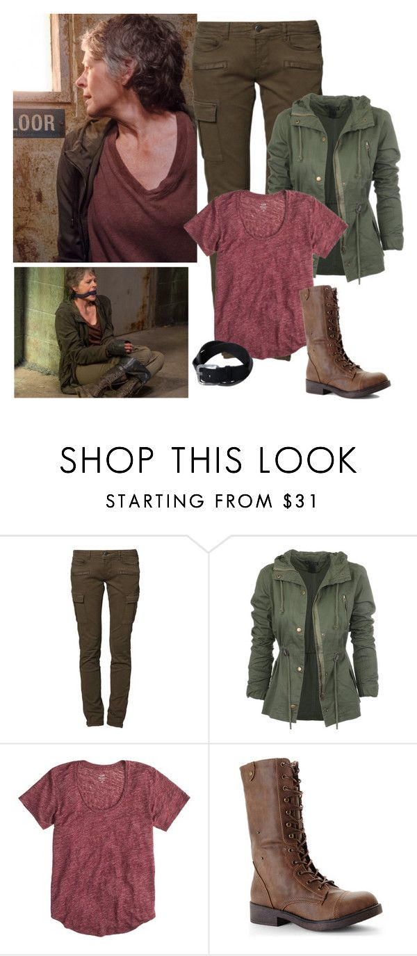 The Walking Dead - style by bebe6121985 on Polyvore featuring J.Crew, CIMARRON and Madden Girl