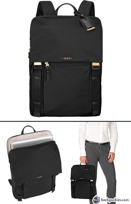 Tumi Voyageur laptop backpack for women - The perfect women's backpack for work