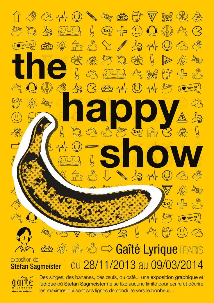 the happy show, stefan sagmeister (projet d'école)