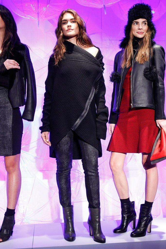 Elie Tahari Fall 2014 Runway Show | New York Fashion Week | POPSUGAR Fashion