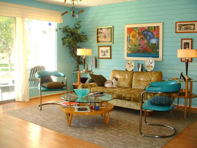 25 creative retro living rooms ideas to discover and try for Retro style bedroom furniture