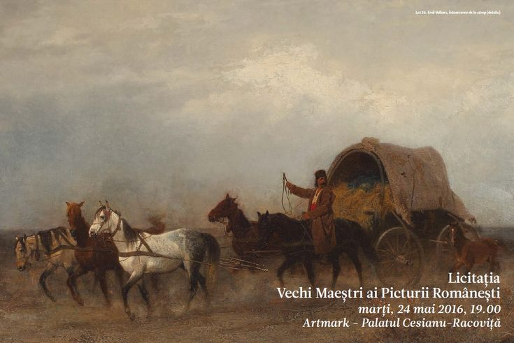 Catalog Artmark Vechi Maestri ai Picturii Romaesti 2016 - marti, 24 mai 2016, 19.00, Palatul Cesianu-Racovita! Flori de camp - Elena Stancescu Muller