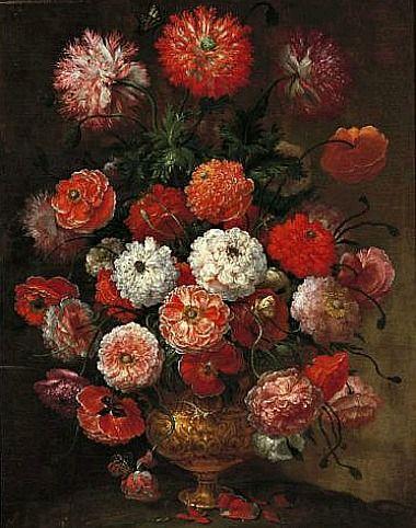 Bartolomeo Bimbi Wild Roses 1717