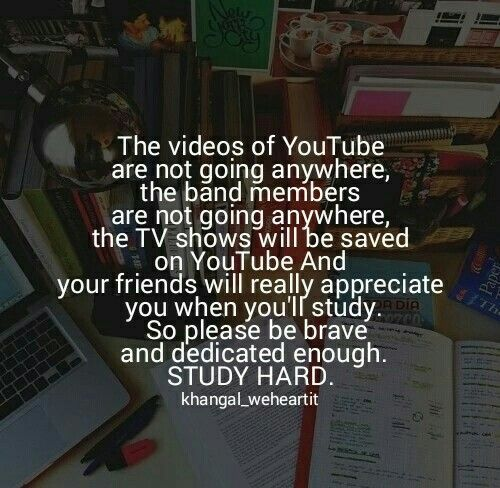 Pinterest Best Motivational Quotes For Students: Study Is Riya's Life.....