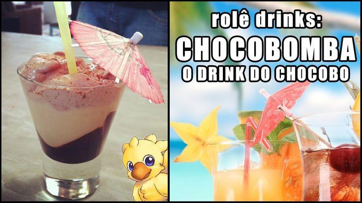 Chocobomba: O Drink do Chocobo (Chocobomb - Com e Sem Álcool)