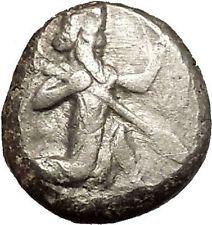450BC Artaxerxes I Darius III Achaemenid Empire Silver Greek SIGLOS Coin i53570