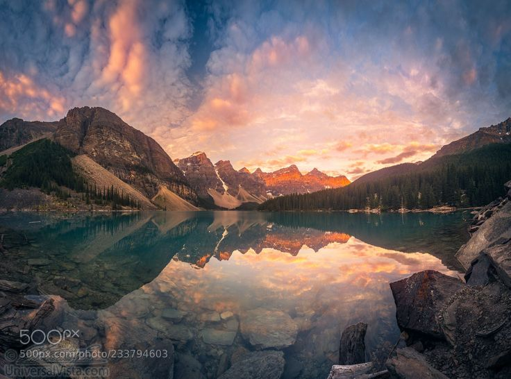Sunrise hour at Banff (William Lee / PORTLAND / United States) #ILCE-7RM2 #landscape #photo #nature
