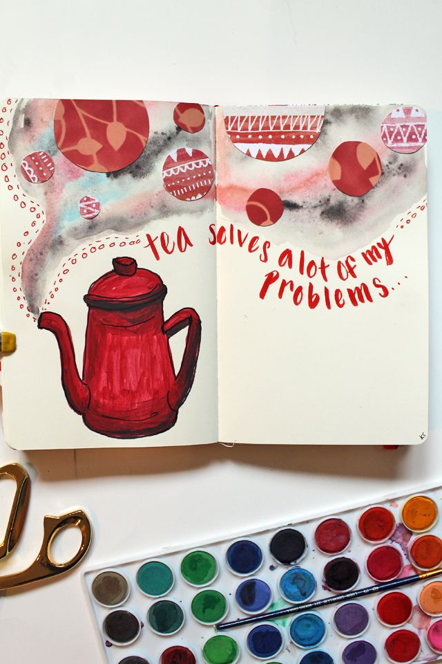 punk projects: The Red Color Chaos Journal