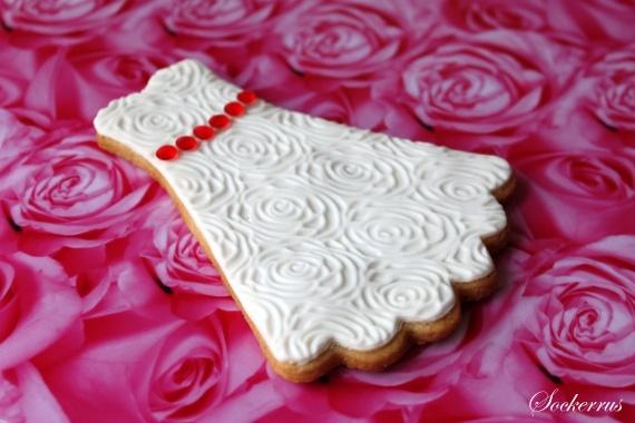 Wedding Dress Cookie