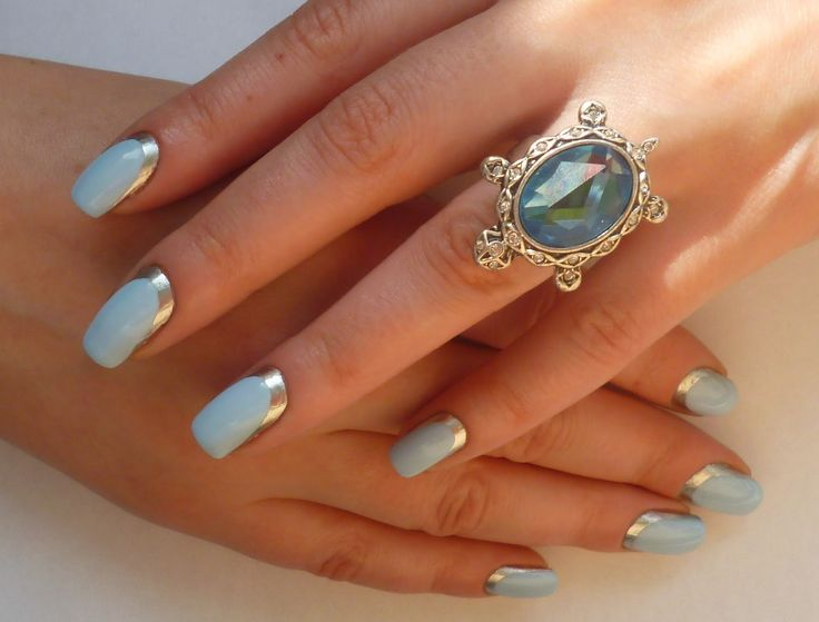 Ksu Esu: Лакомарафон 05/07/2014: Мятные/лазурные ногти