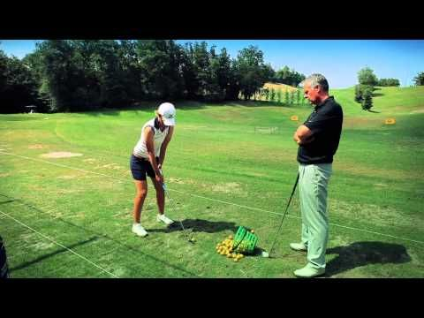 Veronica Zorzi e il Coach Duncan Muscroft   Golf Colli Berici - YouTube
