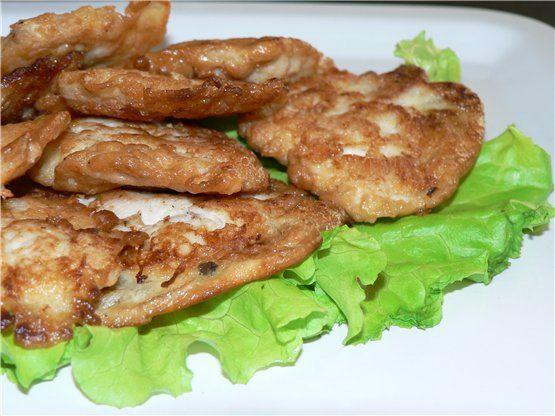 Котлетки рубленные нежные куриные ( могут быть и индюшиные) : Вторые блюда