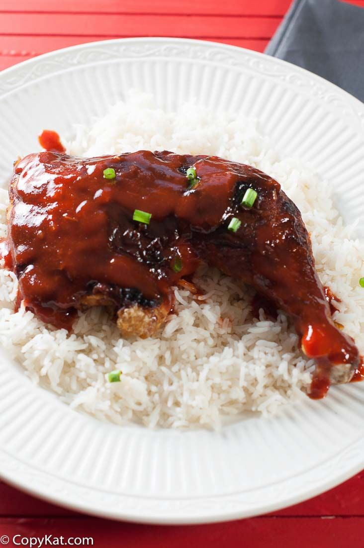 Sriracha Honey Glazed Leg Quarters