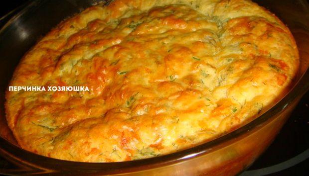 Быстрый пирог с колбасой и сыром - 2 варианта - Перчинка хозяюшка