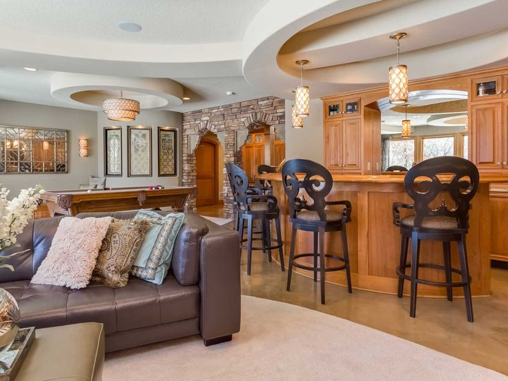 Finished Basement Ideas for Cozy Additional Living Space - http://www.amazadesign.com/finished-basement-ideas-for-cozy-additional-living-space/