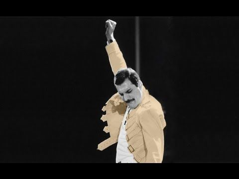 Queen - 'The Show Must Go On'// Freddie will remain the best for me. always//