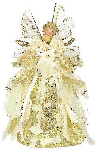 "12"" Angel Cabbage Ivory Tree Topper by American Silkflower, http://www.amazon.com/dp/B006C49P72/ref=cm_sw_r_pi_dp_q9K1rb1GN5PJ3"