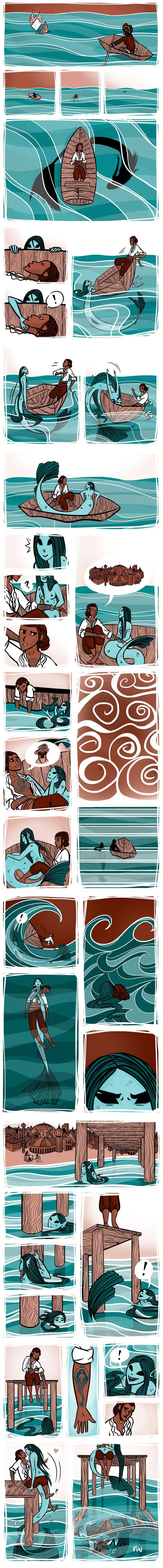 O naufrágio e a sereia