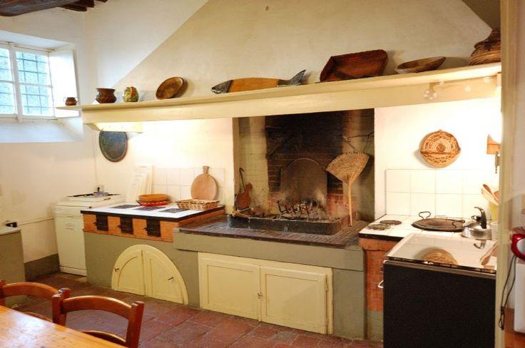 Ancient Tuscan kitchen