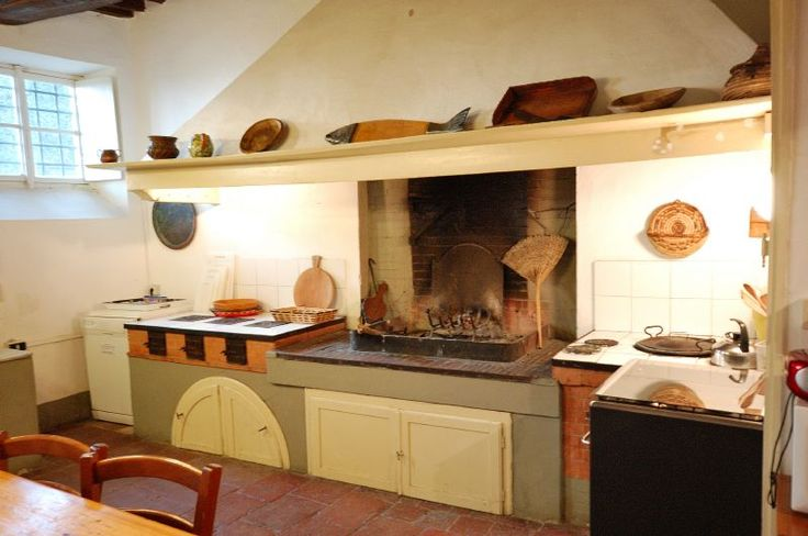 Ancient Tuscan kitchen