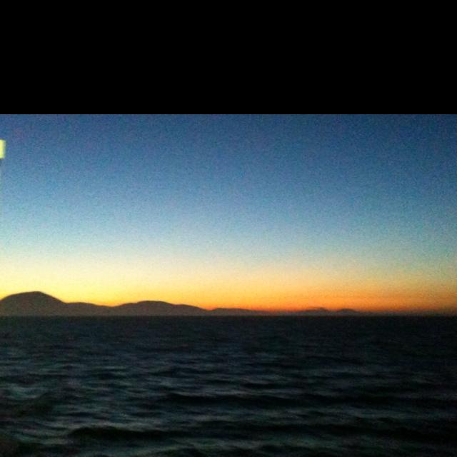Viewing Elafonissos, last light