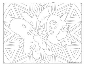 Free Printable Pokemon Coloring Page Seaking Fun For All Ages Adults And Children