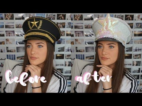 Spiksplinternieuw DIY | Festival Captain Hat - YouTube | Raves in 2019 | Diy hat IG-08