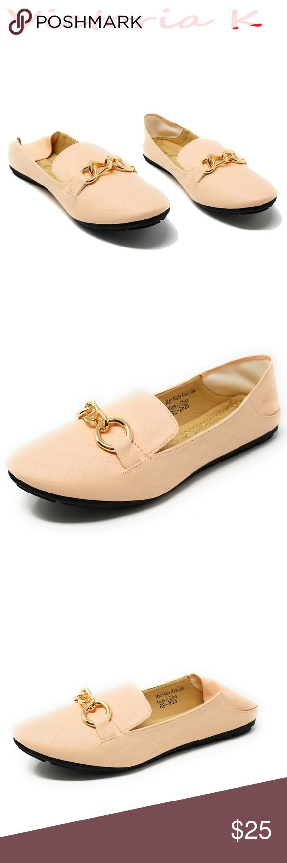 """Women Ballerina Flats / Mules, BS-2626, Pink Brand new super popular stitched woman slippers that can be worn as mules with the back down. Extra soft insoles. Textured rubber outer sole for traction. Cute horse bit buckle. 100% man made PU vegan leather. Measurements: sizes 6 through 8 are true to size. Sizes 8.5 - 11 run small. Standard 3 inch width. Size 8 measures 9.5 inches, sz 8.5 = 9 3/4"""", sz 9 = 10"""", sz 10 = 10.5"""", size 11 fits a true size 9.5 wearer. Slip on these loafers and make a…"""