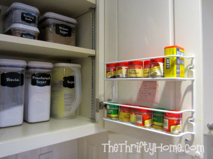 Best 25 deep pantry organization ideas on pinterest pantry and cabinet organizers pull out - Basic kitchen upgrades to liven up your kitchen ...