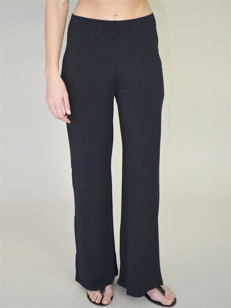 PALAZZO PANT - Flower Clothing - Soft flowing jersey - elastic waist - great for travelling