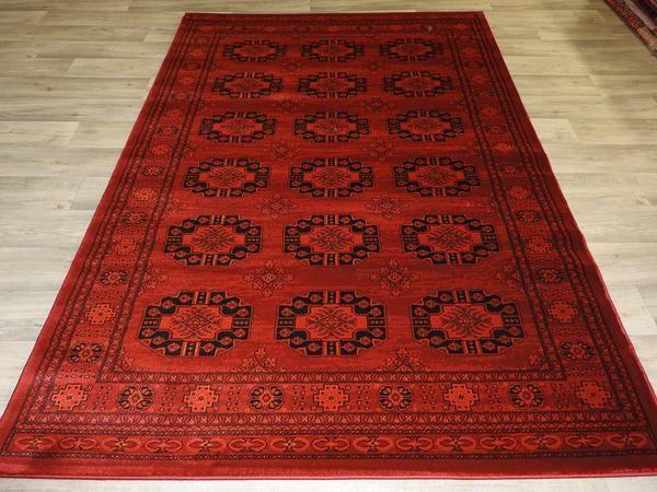 Turkman Like Pattern! Afghan Turkish Traditional Rug Size: 200 x 290cm