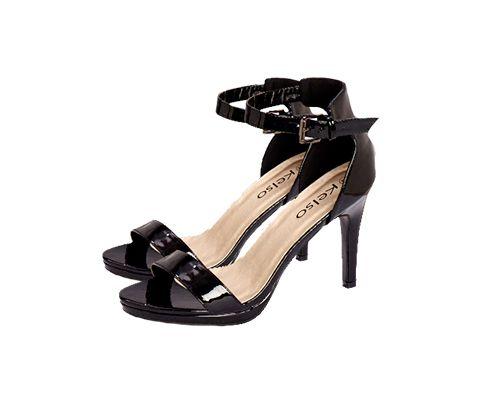 Kelso Black Heels