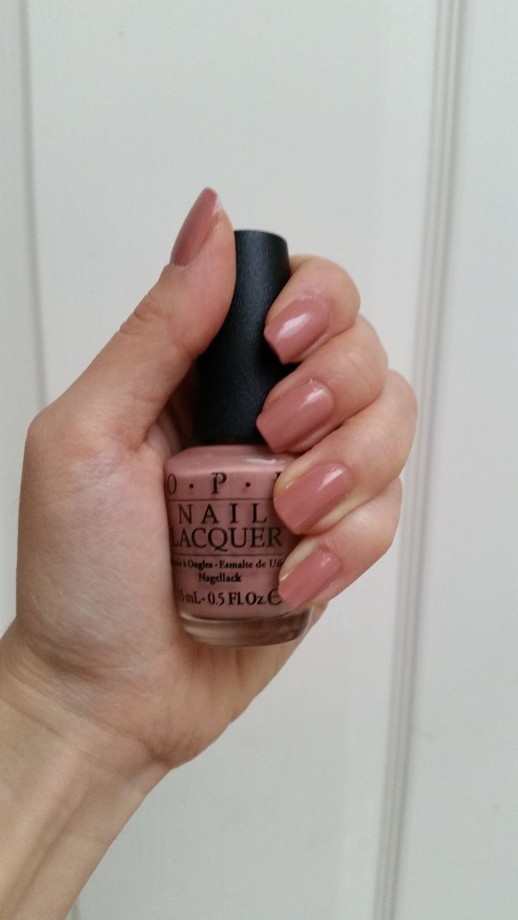 OPI A15 dulce de leche - on my nails