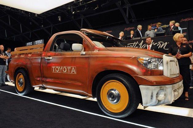 Custom Toyota Tundra pickup raises 100,000 for charity at Barrett-Jackson
