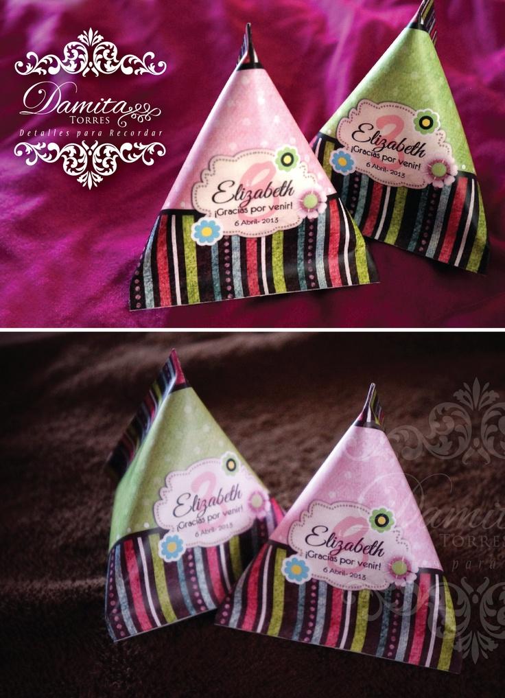 Boings mini para Baby Shower niña, el diseño se personaliza al tema que quieras!