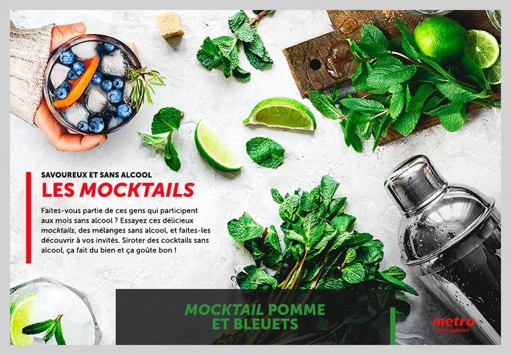 Savoureux et sans alcool : les mocktails - La Presse+