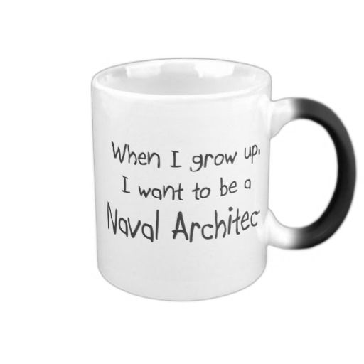 "Please vist my gallery <a href=""http://www.zazzle.com/professions"" target=""_blank"">zazzle.com/professions</a> for more Naval Architect tshirts, mugs, hats and other When I grow up I want to be a Naval Architect gifts. Use the search tool at my store for other professional and jobs merchandise. When I grow up I want to be a Naval Architect products avaiable on tshirts,sweatshirts,kids shirts, infant onsies, stickers, magnets, and much more Naval Architect clothing fully customizable to your…"