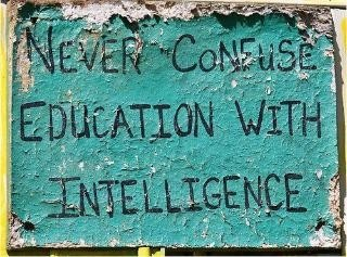 Good one!Remember This, Real Life, An Education, Confused Education, Education Quotes, Commons, Quotable Quotes, True Stories, Common Sense