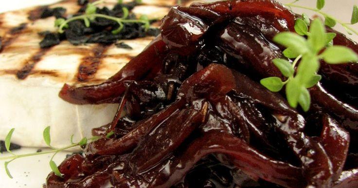 Smaczna Pyza: Konfitura z czerwonej cebuli