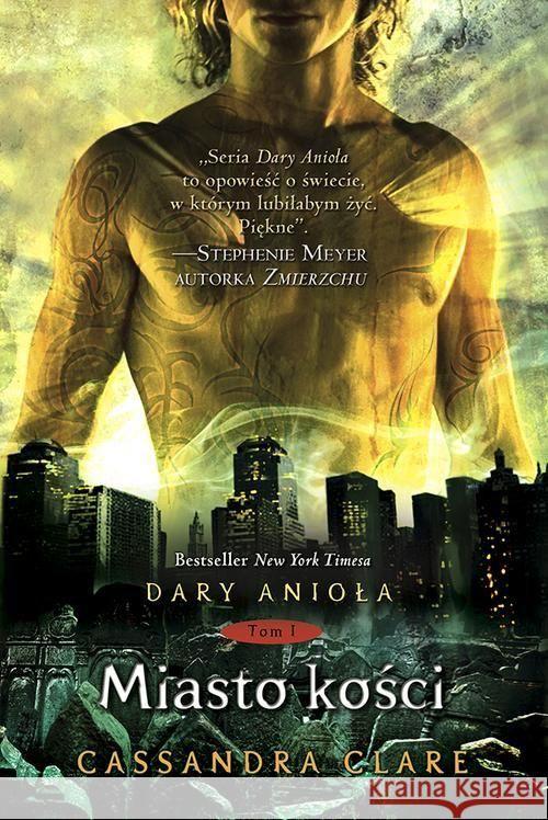 Dary Anioła Miasto kości Clare Cassandra 9788374803762 MediaWay - ksi��ka