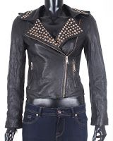 Geaca Z Dama Alma Black Leather (Zara)